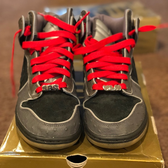 "info for 45d23 304f7 Nike Dunk SB Premium ""MF Doom"" NDS size 8.5"